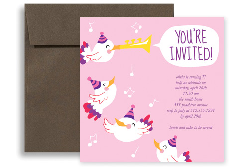 Birthday Invitation Words  Birthday Invite Words