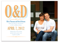 Country Style Design Microsoft Wedding Invite