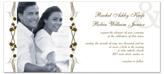 Personalized My Own Photo Microsoft Wedding Invite