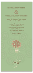Sage Brown Spring Microsoft Wedding Invite