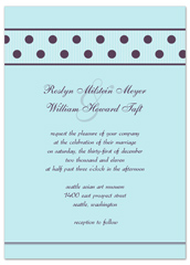 Circle Customise Template Printable Wedding Invitation