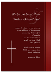 Baptist Religious Verses Wedding Invitation Ideas