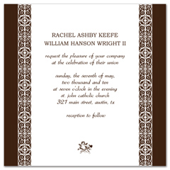 Creative Square Shape Indian Wedding Invitation Ideas