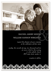 Black Download Photos Wedding Invitation Templates