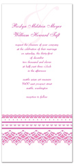 Printable Diy Purple Wedding Invitation Templates