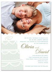 Trendy Modern Design Wedding Invitation Templates